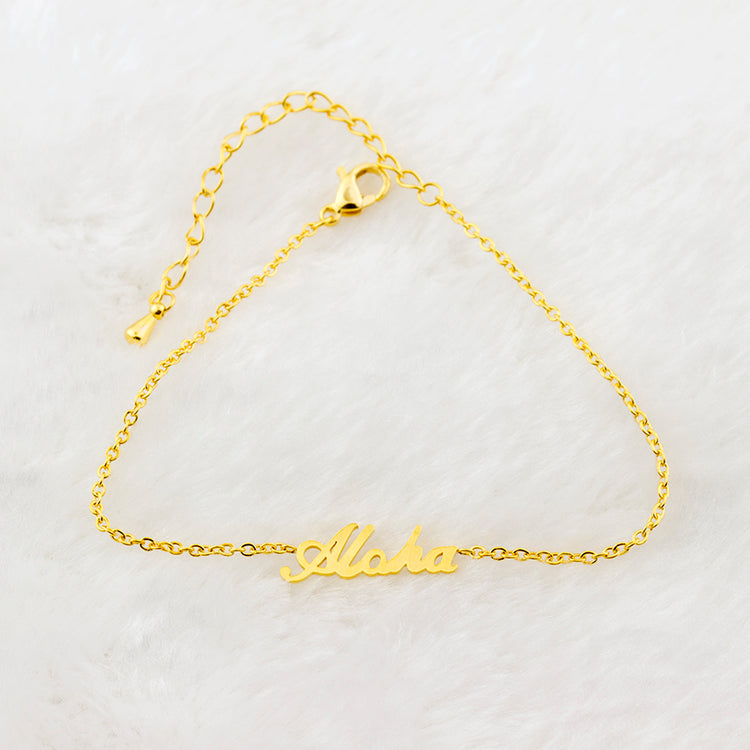 Gold / Silver Aloha - Best Friend Bracelet