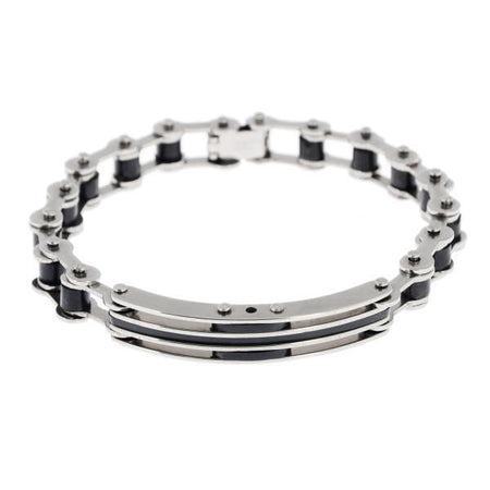 Bike Chain - Rubber Bracelet