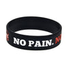 Get Fit Motivational Rubber Bracelet