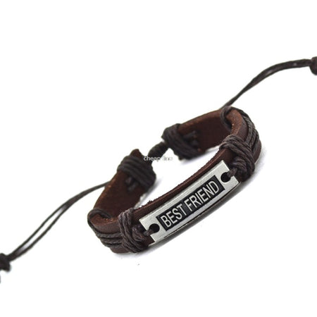 Statement Leather - Best Friend Bracelet