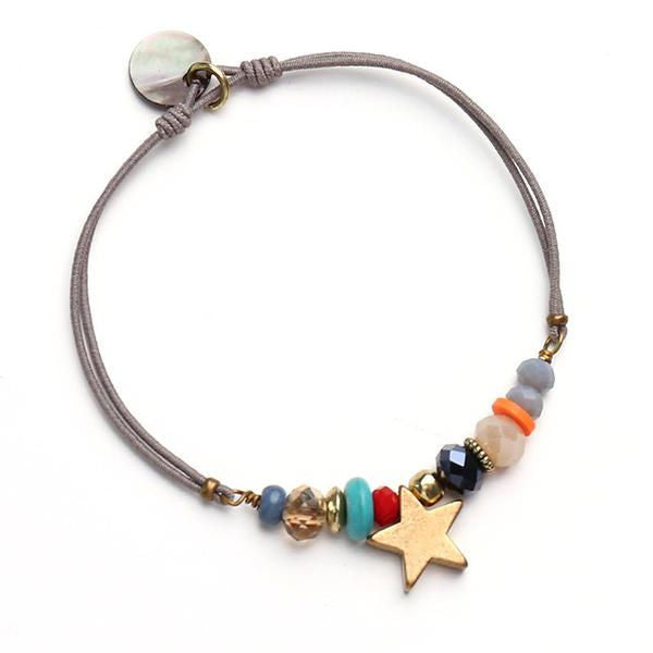 Multicolored Enchanting Charm Best Friend Bracelet