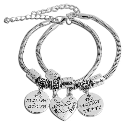 Snake Chain Charm - Best Friend Bracelet
