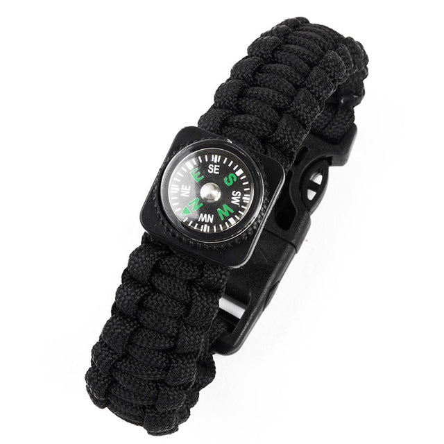 Compass Camping Paracord Bracelet