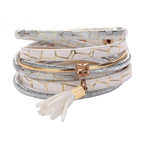 Multi-Color European Fashion Wrap Bracelet