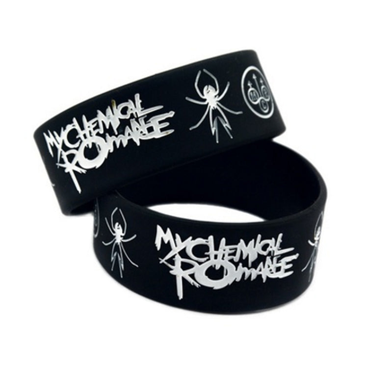 Punk Rock - Rubber Bracelet