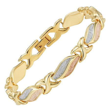 3-Tone Lovely Magnetic Women's Bracelet