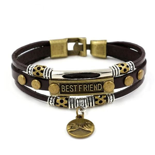 Vintage Leather - Best Friend Bracelet