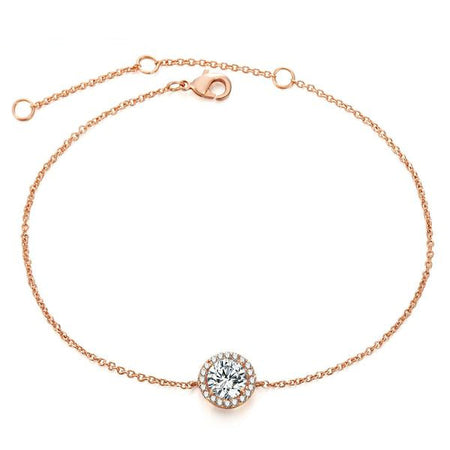 Austrian Crystal Rose Gold Bracelet