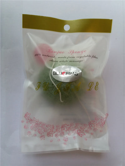 Konjac Activated Bamboo Charcoal Facial Cleansing Sponge