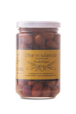 OLIVE TAGGIASCHE IN SALAMOIA- 100 gr