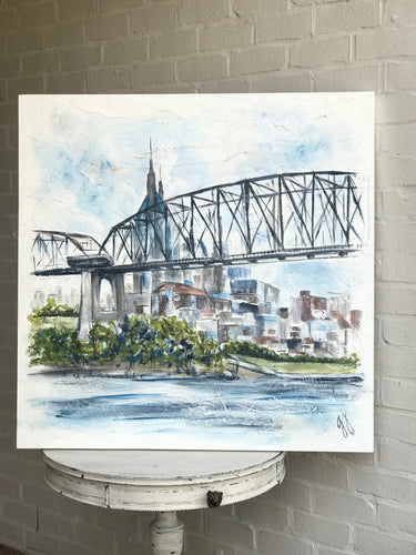 Nashville Skyline - Original Art