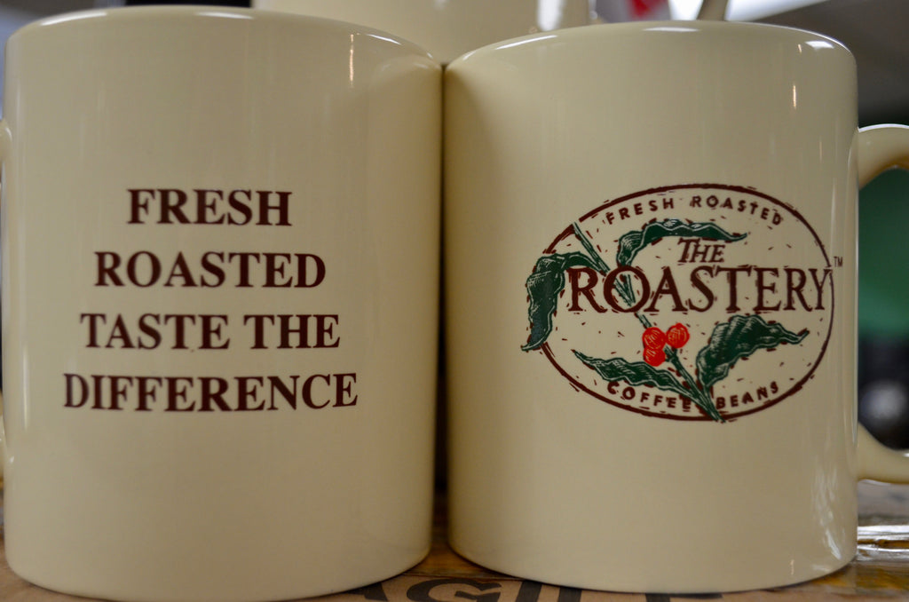 Vintage Roastery Ceramic Coffee Mug