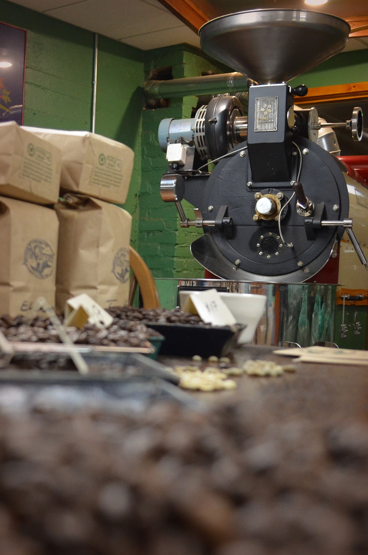 Roasting Class: From Green to Brown - April 1, 2018