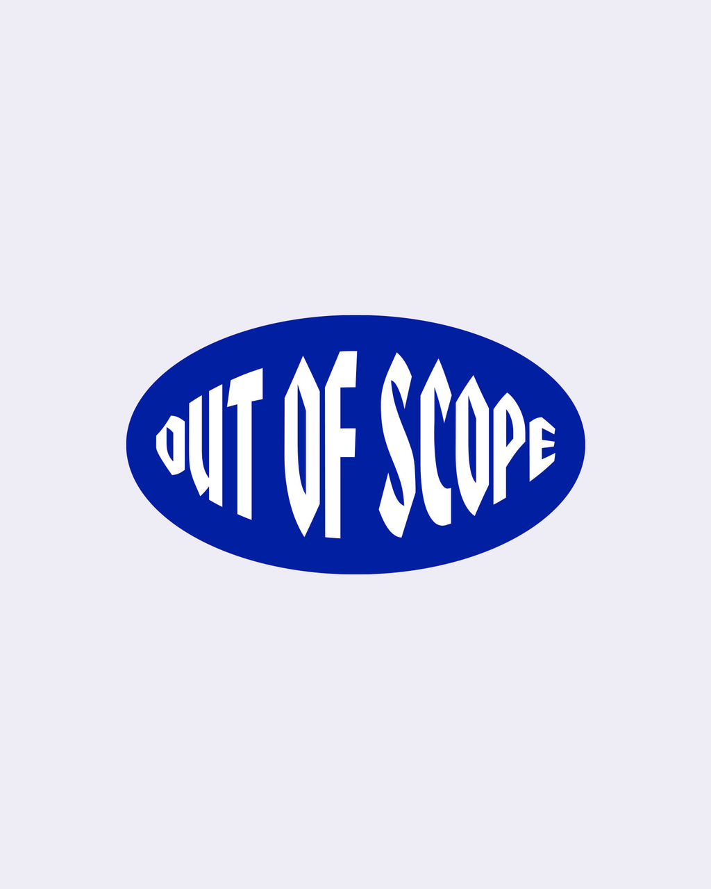 Out of Scope Sticker