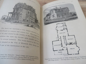 Specimen Book of 100 Architectural Designs Showing Plans, Elevations and Views of Suburban Houses, Villas, Sea-side and Camp-ground Cottages, Homesteads, Churches and Public Buildings