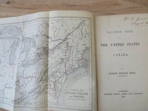 A Vacation Tour of the United States and Canada