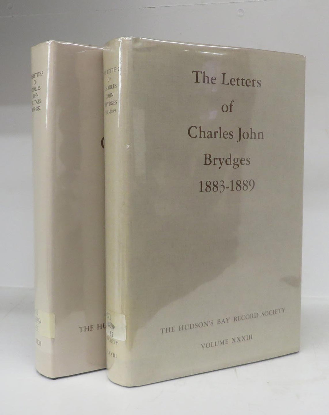The Letters of Charles John Brydges 1879-1882, 1883-1889 (2 Volumes)