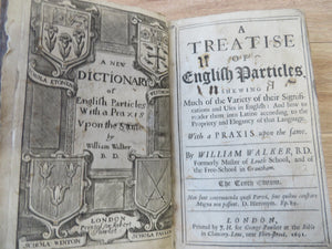 A Treatise of English Particles