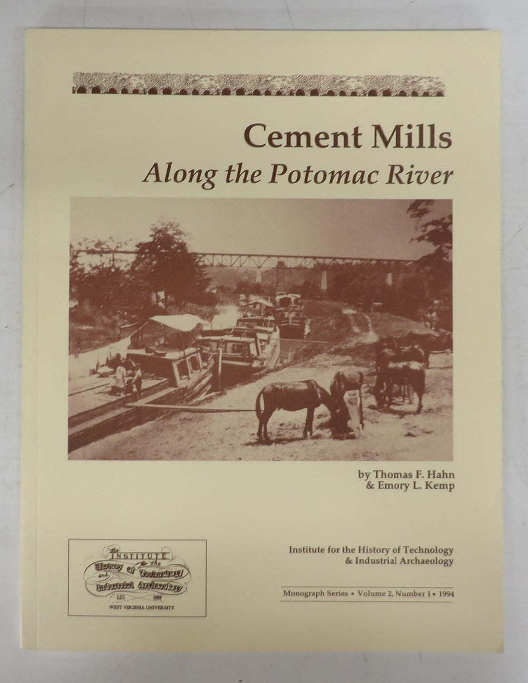 Cement Mills Along the Potomac River