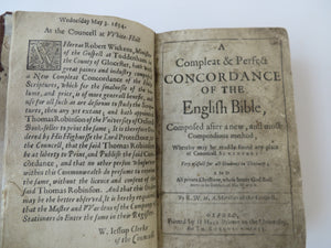 A Compleat & Perfect Concordance of the English Bible
