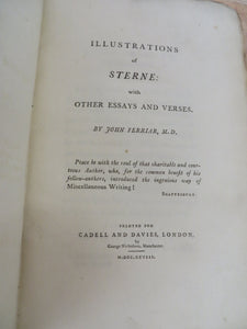Illustrations of Sterne: with Other Essays and Verses