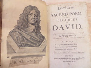 Eight works, including Davideis, The Mistress, and Pindarique Odes