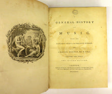 A General History of Music, from the Earliest Ages to the Present Period