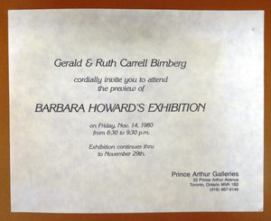 Twenty-Eight Drawings by Barbara Howard