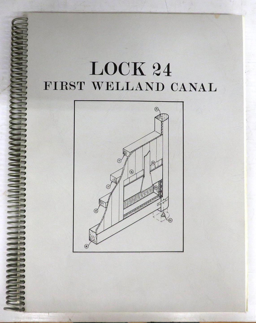 Lock 24, First Welland Canal