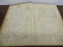 Ledger of Chatham, Ontario School Trustees