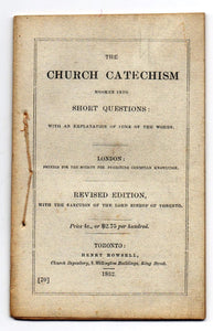 The Church Catechism Broken into Short Questions: with an Explanation of Some of the Words