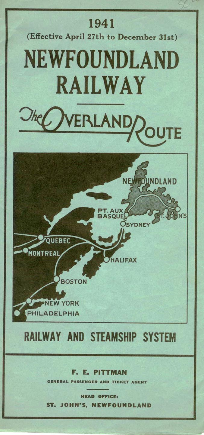 Newfoundland Railway: The Overland Route