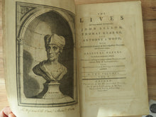 The Lives Of those Eminent Antiquaries John Leland, Thomas Hearne, and Anthony à Wood; with An authentick Account of their respective Writings and Publications, from Original Papers