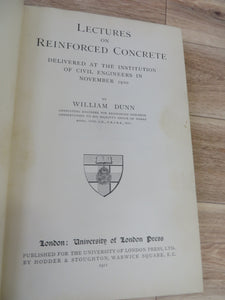 Lectures on Reinforced Concrete