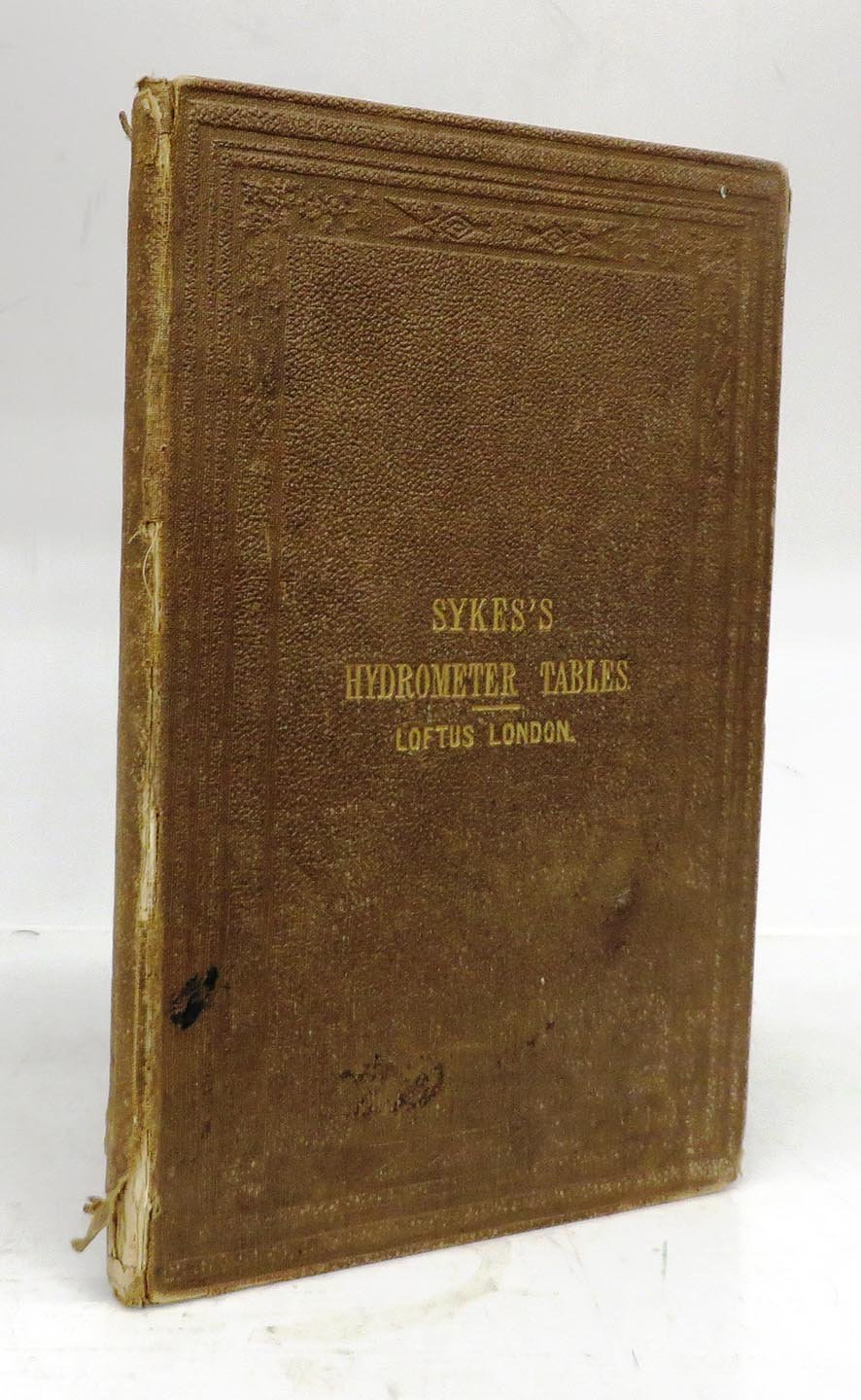 Tables of the Concentrated Strength of Spirits by Sykes's Hydrometer; As Used by the Officers of the Excise Branch of the Inland Revenue