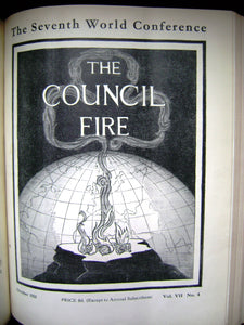 The Council Fire April 1930 - October 1936