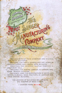 The Singer Manufacturing Company Sewing Machines