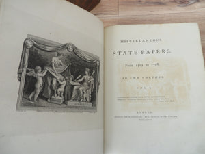 Miscellaneous State Papers from 1501 to 1726