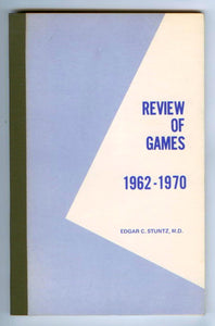 Transactional Game Analysis: A Review of TA Literature 1962 through 1970