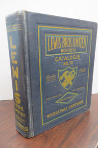 Lewis Bros. Limited Catalogue
