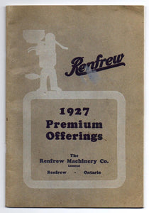 Renfrew Premium Catalogue