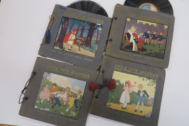 Little Tot's Records: Songs Games Stories for Kiddies. 1, 2, 3, 4