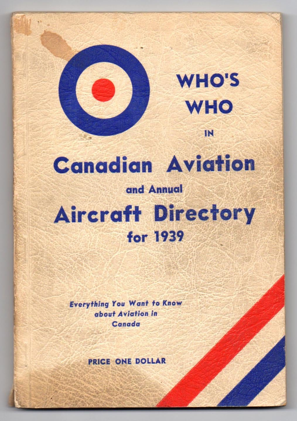 Who's Who in Canadian Aviation and Annual Aircraft Directory for 1939