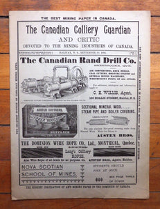 The Canadian Colliery Guardian and Critic
