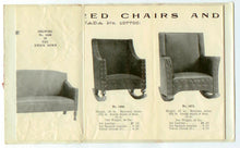 Canada Furniture Manufacturers mailable fold-out catalogue
