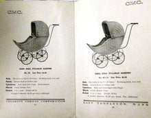 Doll Carts catalogue 1914