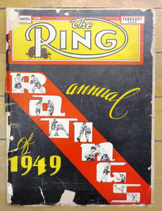 The Ring magazine, February 1950