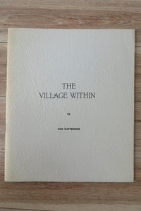 The Village Within: Poems Toward a Biography