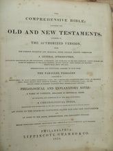 The Comprehensive Bible; Containing the Old and New Testaments