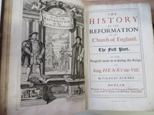 The History of the Reformation of the Church of England;
